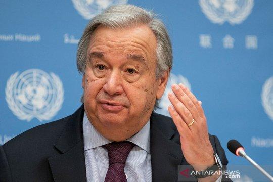 "Sekjen PBB Guterres minta militer Myanmar ""Hentikan penindasan"""