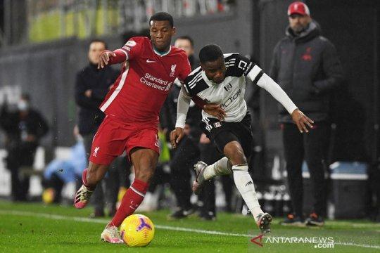 Liverpool buang peluang ambil alih puncak setelah diimbangi Fulham