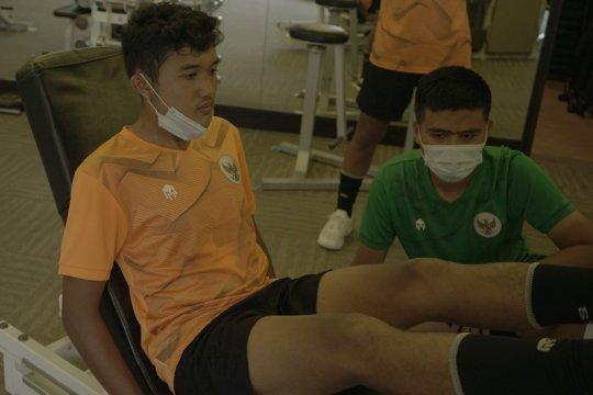 Pelatih puas dengan perkembangan fisik timnas U-16