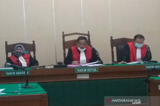 Perkara suap 14 mantan anggota DPRD Sumut dalam lima berkas