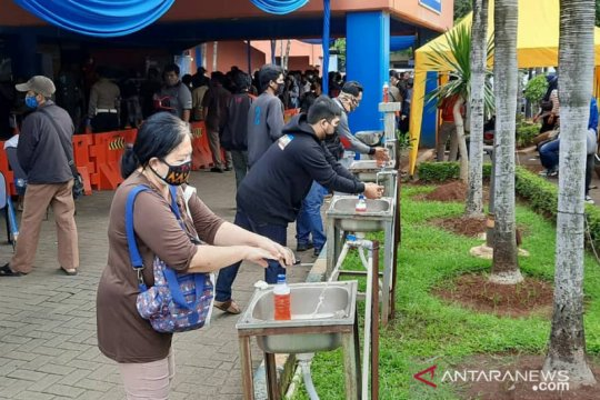 Selasa, layanan Samsat Keliling Jadetabek berada di lokasi berikut
