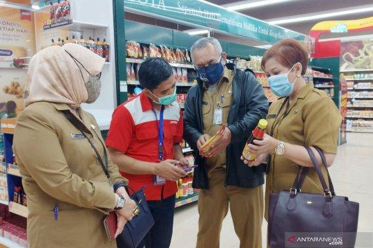 Petugas gabungan temukan produk tak layak edar di Lotte Mart