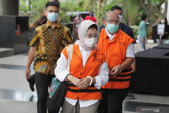 KPK eksekusi dua mantan pejabat Pemkab Kutai Timur ke Lapas Tenggarong