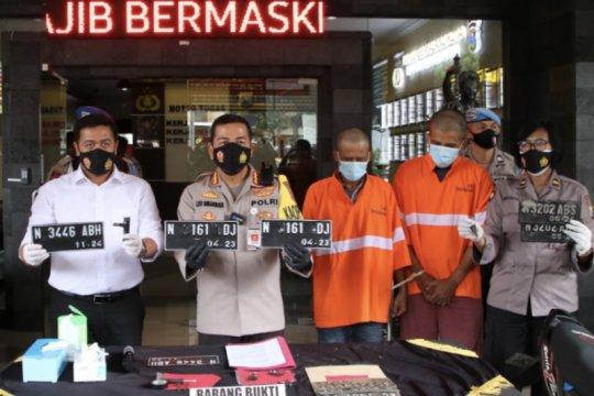 Polisi tangkap sindikat curanmor resahkan warga Kota Malang