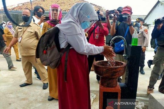 Kabupaten Bekasi gelar simulasi belajar tatap muka