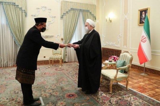 Dubes RI serahkan surat kepercayaan kepada Presiden Iran