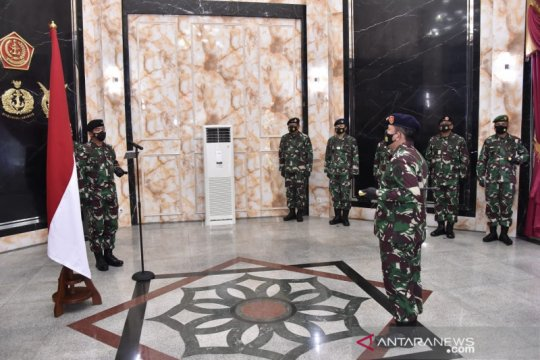 Panglima TNI terima laporan kenaikan pangkat lima pati