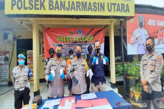 Penyelundupan 1,3 kg sabu-sabu di Banjarmasin manfaatkan momen pilkada