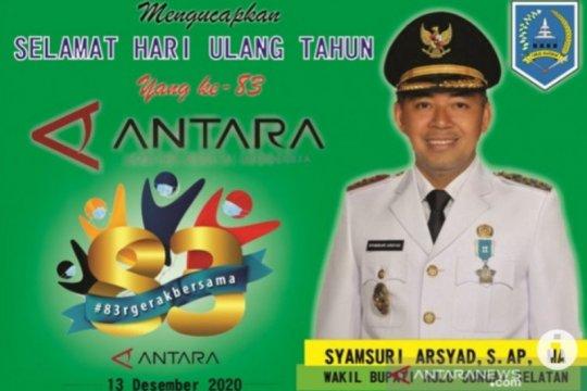 Wabup HSS : ANTARA teruslah berperan untuk bangun negeri