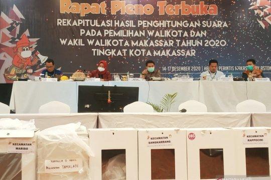 KPU Makassar umumkan pasangan Danny-Fatma menang di Pilkada Makassar