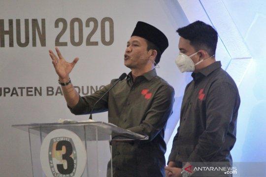 KPU Kabupaten Bandung sahkan Dadang-Sahrul jadi pemenang Pilbup
