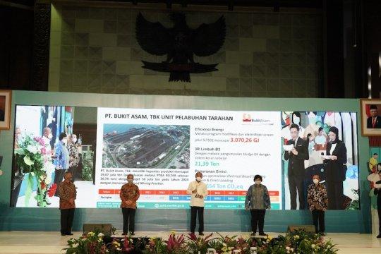 PTBA unit Pelabuhan Tarahan Lampung raih Proper Emas