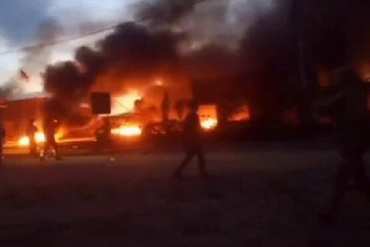 Polisi tangkap lima demonstran berujung pembakaran di PT VDNI