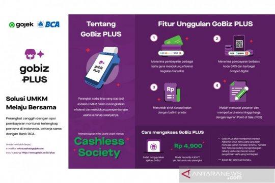 Gojek - BCA luncurkan GoBiz Plus, mudahkan transaksi nontunai UMKM