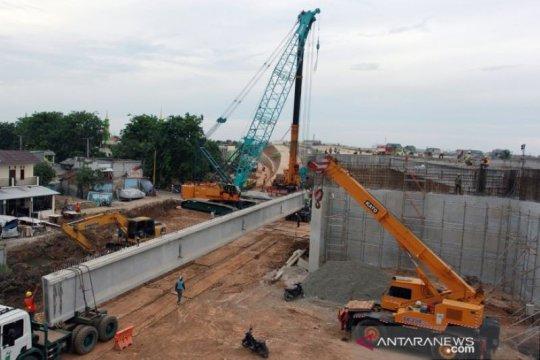 Konstruksi tol Kunciran - Cengkareng capai 94,9 persen per November