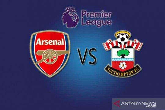 Kasus COVID merebak lagi, Arsenal jamu Southampton di stadion tertutup