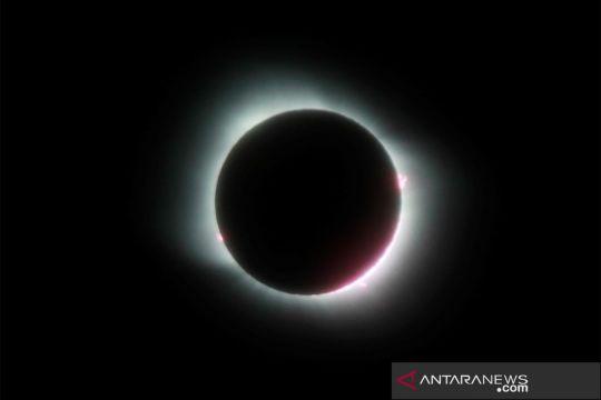 Gerhana matahari total di Amerika Selatan