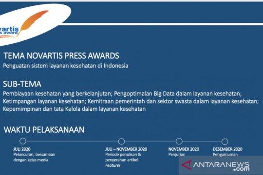 Pewarta Antara Sumbar sabet gelar juara Novartis Press Award 2020
