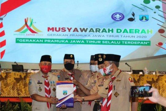 Arum Sabil terpilih sebagai Ketua Kwarda Pramuka Jatim 2020-2025
