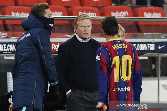 Ronald Koeman minta pengertian suporter Barcelona