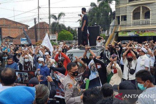 Kapolda bubarkan aksi damai Aliansi Umat Islam Jambi