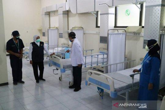 Gubernur Jatim resmikan RS lapangan penanganan COVID-19 di Kota Malang