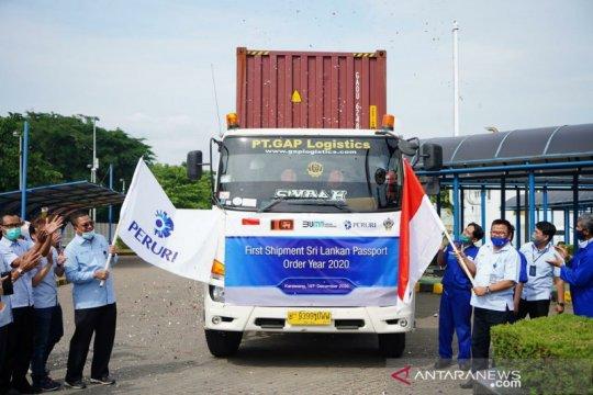 Tembus pasar internasional, Peruri ekspor paspor ke Sri Lanka