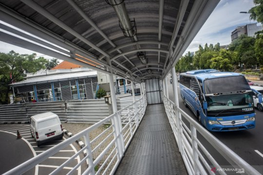 TransJakarta modifikasi lima rute layanan imbas aksi di Istana Merdeka