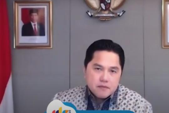 Erick Thohir ingin Telkom jadi fondasi program satu data pemerintah