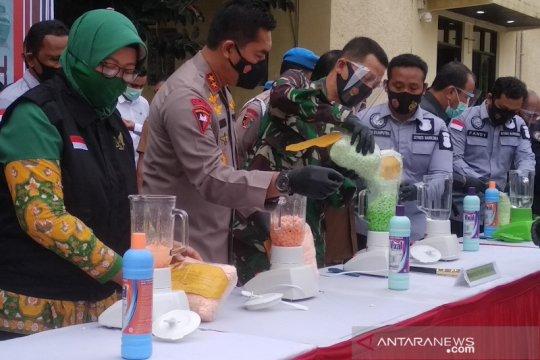 Polda Aceh gagalkan peredaran 469,5 kg sabu sepanjang 2020