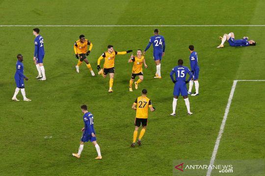 Liga Inggris: Chelsea keok lawan Wolverhampton Wanderers 1-2