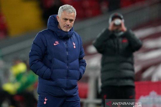 Jose Mourinho sebut timnya pantas menang lawan Liverpool