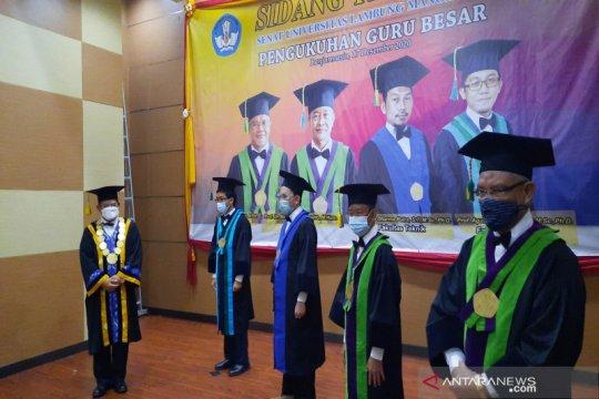 Universitas Lambung Mangkurat tambah empat guru besar