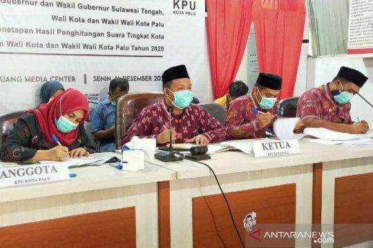 KPU revisi jumlah perolehan suara Aristan-Wahyuddin di Pilkada Palu