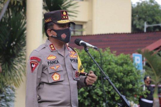 Kapolda Sulut melepas dua SSK Brimob BKO Polda Metro Jaya