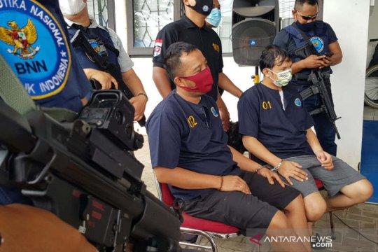 Oknum anggota Polres Wonosobo jadi pengedar sabu diringkus BNN Jateng