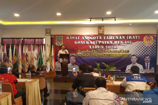 KONI Kabupaten Bekasi targetkan juara umum PORDA Jabar 2022