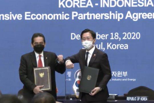 Perjanjian Indonesia-Korea CEPA resmi ditandatangani