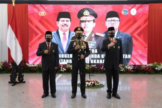 Kapolri anugerahkan Bintang Bhayangkara Utama kepada dua menteri