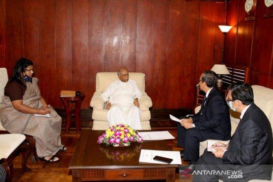 Menlu Sri Lanka ingin pendeta Budha belajar bahasa Indonesia