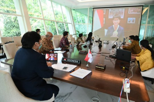 Indonesia serukan pentingnya kerja sama masa pandemi pada forum IORA