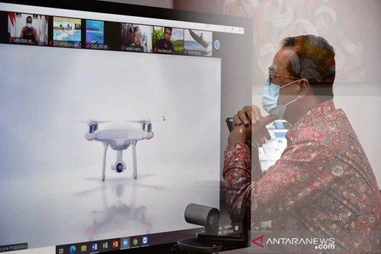 Menhub: Penggunaan drone perlu regulasi seperti pesawat berawak