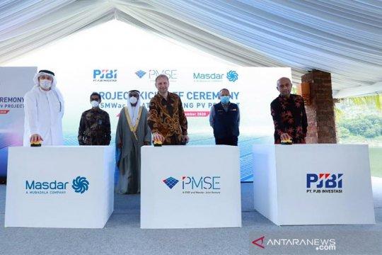 BKPM jamin kawal proyek PLTS Terapung Cirata 145 MW