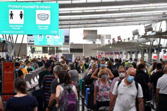 Tahan risiko virus, Australia akan larang penerbangan dari India
