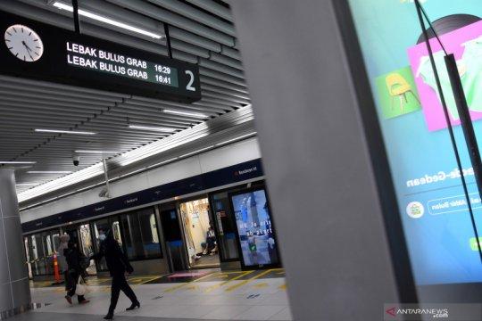MRT batasi jam operasionalnya selama Pengendalian Kegiatan Masyarakat di Jakarta