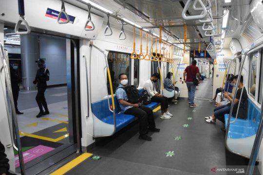 MRT Jakarta ubah jam operasional ikuti ketentuan PPKM Mikro