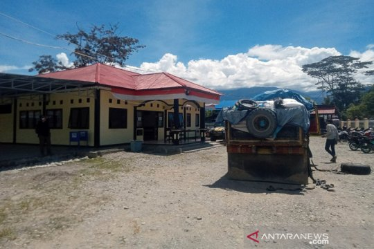 Polisi Jayawijaya wajibkan pemeriksaan pelintas jalan Trans Papua