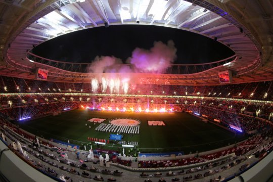 Qatar resmikan stadion keempat Piala Dunia 2022