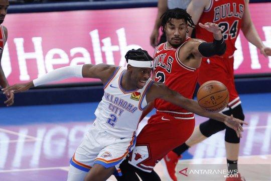Sempat tertinggal 22 poin, Thunder sukses kalahkan Bulls