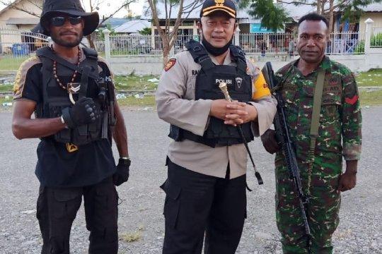 Pleno KPU Yalimo sempat ricuh, satu anggota Polri terpanah